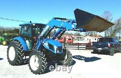 2015 New Holland T. 4.65 Tractor Cab, 4x4 Loader-FREE 1000 MILE DELIVERY FROM KY