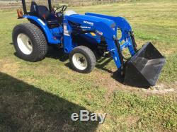 2015 New Holland Work Master 40 With 60 Bucket and 12ft Batwing