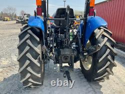 2015 New Holland Workmaster 55 4x4 55Hp Utility Tractor Super Clean Only 200Hrs