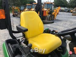 2016 John Deere 1025R 4x4 Hydro Diesel Compact Tractor with 60 Mower Super Clean