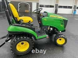 2016 John Deere 1025R Diesel Tractor 4x4 Mower