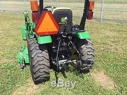 2016 John Deere 2025R Utility Tractors