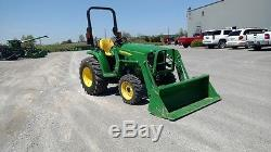 2016 John Deere 3032E Tractor Loaders