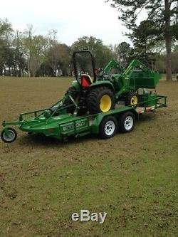 2016 John Deere 3032E Utility Tractors