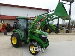 2016 John Deere 3039r Mfwd Compact Cab Tractor For Sale With Loader 14 Hours