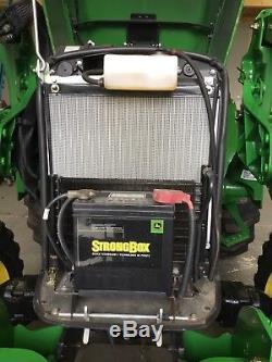 2016 John Deere 4105 Compact Tractor 35 Hrs