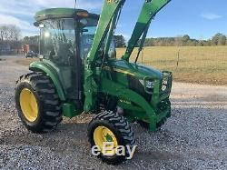 2016 John Deere Deluxe Cab 4066R (245 hours) 66 HP Hydrostatic Tractor