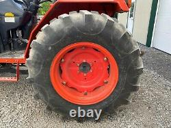 2016 KIOTI DS4110 TRACTOR With LOADER, 2 POST ROPS, 4X4, 540 PTO, 41 HP, 361 HOURS