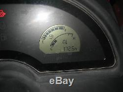 2016 KUBOTA BX25D 4WD 172.6 hours LOADER BACKHOE DIESEL WithLANDPRIDE BOX SCRAPER