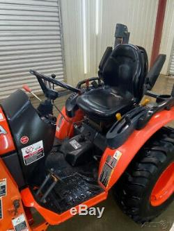 2016 Kubota B2601 Hst Tractor Loader With 4x4