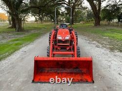 2016 Kubota B3300 Compact Farm Tractor With Loader 4x4 Hydrostatic