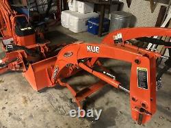 2016 Kubota BX25D Loader Backhoe 54 nch mower low 125 Hrs. Excellent Condition