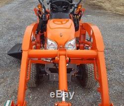 2016 Kubota BX25DLB Compact Tractor