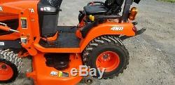 2016 Kubota BX2670 Compact Loader Tractor WithMower Only 85 Hours! Warranty