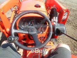 2016 Kubota L2501 Tractor Loader Backhoe 2 Post Rops 4x4 197 Hours 25 HP Kubota