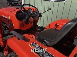 2016 Kubota L2501d Hst 4x4 Diesel Tractor Loader Rotary Mower, Disc, Tiller