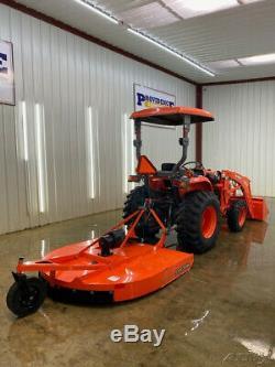 2016 Kubota L2501hst Tractor 4wd Loader Mower With La525 Loader