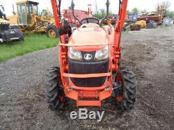 2016 Kubota L3301 Tractor, 4WD, Hydro, LA525 Loader, BH77 Backhoe, 268 Hours