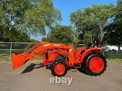 2016 Kubota L3301 With Kubota Front End Loader And Bucket (4x4) (hst) (313 Hrs)
