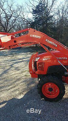 2016 Kubota L3301 tractor LA525 Loader ONLY 17 HRS