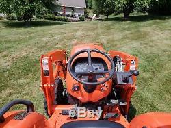 2016 Kubota L3901 4x4 HST (Hydro) Tractor Quick Attach Loader MINT- 85 hrs