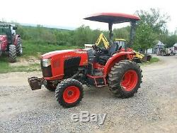 2016 Kubota L4760 4x4 tractor with canopy