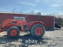 2016 Kubota M5640 4x4 56Hp Utility Tractor with Loader Super Clean Only 1100Hrs