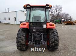 2016 Kubota M7060 Tractor, Cab/Heat/Air, 4WD, LA1154 Front Loader QA, 399 Hours