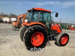 2016 Kubota M9960 4x4 99Hp Farm Tractor with Cab Hydraulic Shuttle Clean