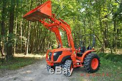 2016 Kubota mx5200 HST Diesel 4X4 Loader PTO Tractor 4WD Quick Detach Bucket