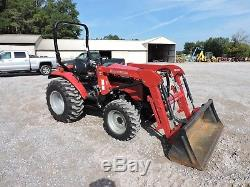 2016 Mahindra 2538 Tractor With Loader! Hystat Very Low Hours