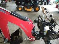 2016 Mahindra Loader/backhoe Tractor Only 130hrs