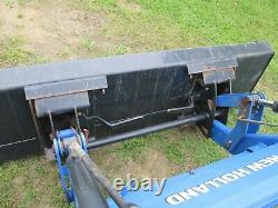 2016 New Holland Boomer 41 Tractor With Front Loader Bucket 4 Wheel Drive
