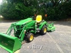 2017 John Deere 1023E Tractor Loaders