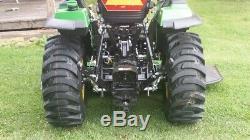 2017 John Deere 2038R Compact Utility Tractor