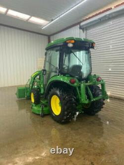 2017 John Deere 3046r Hst Cab With A/c And Heat, 4wd, 46 Hp, Warranty Until 2023