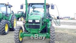 2017 John Deere 5075E 4WD Tractors