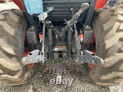 2017 KUBOTA L3560 TRACTOR With LOADER, CAB, 4X4, 540 PTO, 174 HOURS, 6 SPEED HYDRO