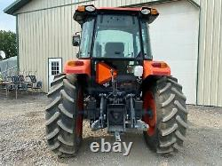 2017 KUBOTA M7060 TRACTOR With LOADER, CAB, 4X4, 540 PTO, 3 PT, HEAT A/C, 52 HOURS