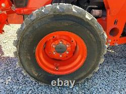 2017 KUBOTA MX5200 TRACTOR With LOADER, 2 POST ROPS, 4X4, 3 PT, 540 PTO, 67 HOURS