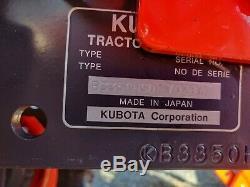 2017 Kubota B3350HSD, Cab, Heat, A/C, 4x4, Skidloader Q-Attach, Warranty