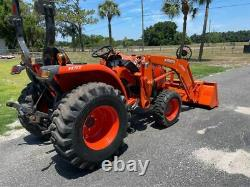 2017 Kubota L2501 4x4 Tractor Loader