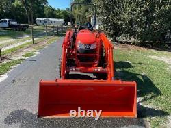 2017 Kubota L3301 4x4 Tractor Loader