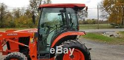 2017 Kubota L3560 Compact Loader Tractor WithCab 151 Hours! Warranty! Very Nice