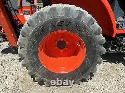2017 Kubota L47 Tractor Loader Backhoe, Canopy, 4x4, Outriggers, 6 Range Hydro