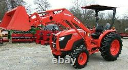 2017 Kubota MX5200 4x4 Loader 424 hours 1-owner FREE 1000 MILE DELIVERY FROM KY