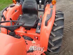 2017 Kubota MX5200 Tractor, LA1065 Loader, 4WD, 52HP Diesel, Ag tires, 177 Hours