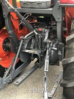 2017 Kubota MX5200 Tractor, LA1065 Loader, 4WD, 52HP Diesel, Ag tires, 195 Hours