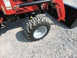 2017 MAHINDRA eMAX22 TRACTOR & LOADER! 4X4 ONLY 46 HOURS