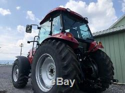 2017 Mahindra M105xl-p 4x4 Tractor Only 91 Hours, 105 Hp. Enclosed Cab. Heat Ac